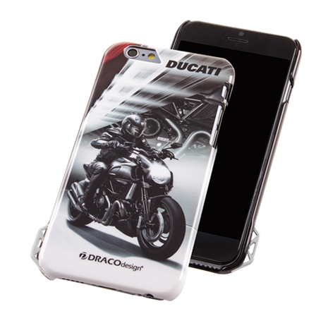 DRACOdesign x DUCATI iPhone 6/6s (4.7吋)聯名保護殼(Diavel Dark)