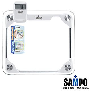 【聲寶SAMPO】分離式大方體重計(BF-L1201ML)+不鏽鋼保溫杯