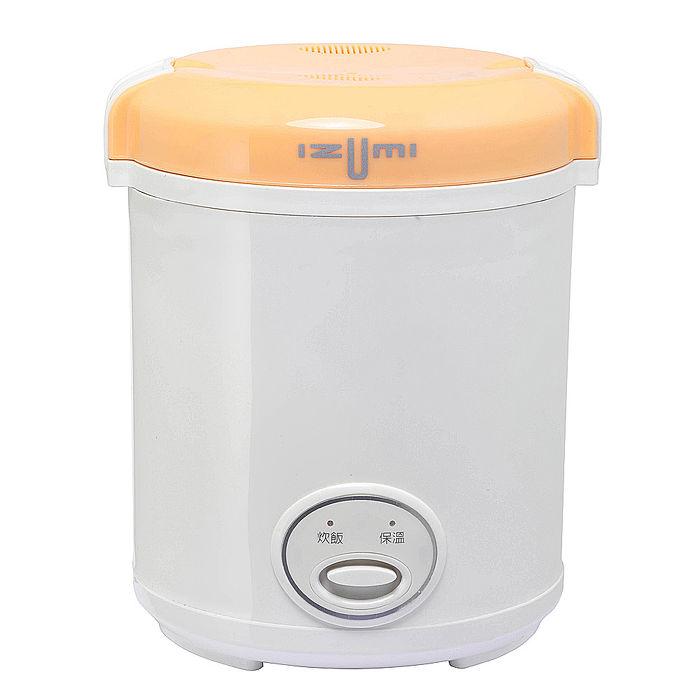 日本IZUMI 精緻隨行電子鍋/隨行鍋(TMC-300)-橘