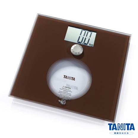 日本TANITA BMI電子體重計HD-383-咖啡