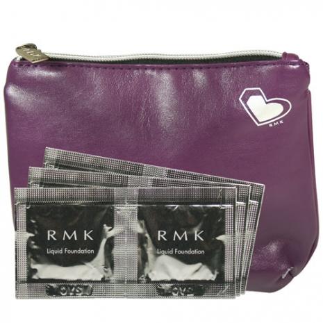 RMK 液狀粉霜紫霧光化妝包體驗組#102