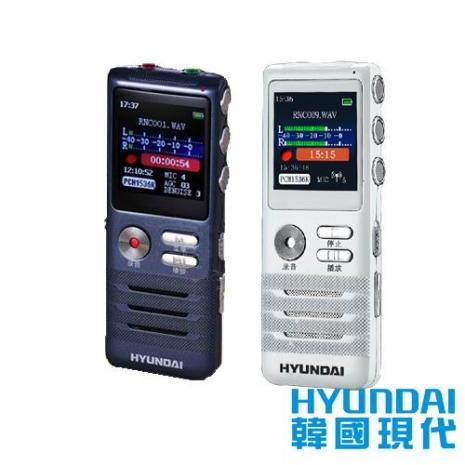 【HYUNDAI現代】數位智能錄音筆8GB HYM-5038