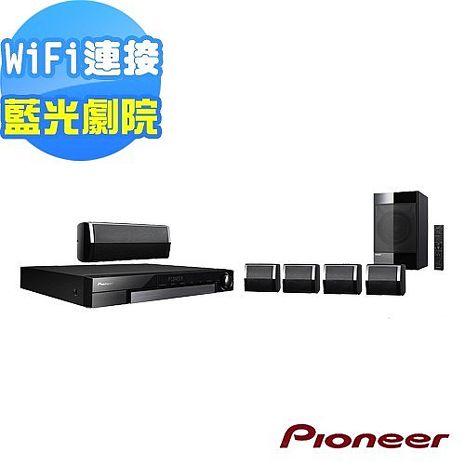 Pioneer先鋒 5.1聲道藍光家庭劇院 MCS-434送基座音箱X-DS501+8G隨身碟
