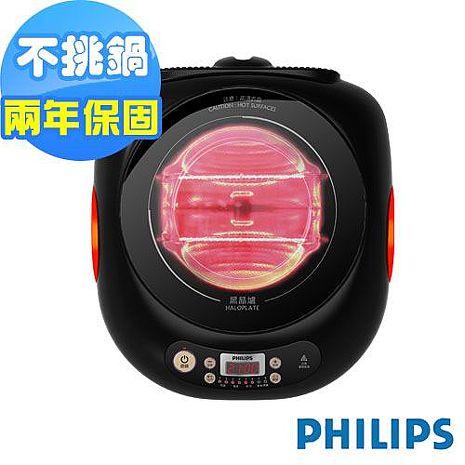 (福利品特價)PHILIPS 飛利浦不挑鍋黑晶爐HD4943