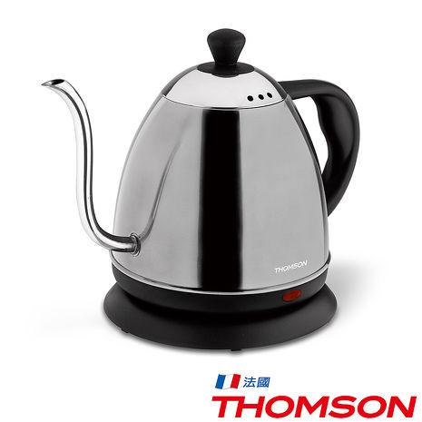 【THOMSON】SA-K02咖啡細口壺304不鏽鋼(0.8公升)