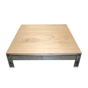 冰箱/洗衣機 耐潮錏板方型墊高架(16x61x76公分)