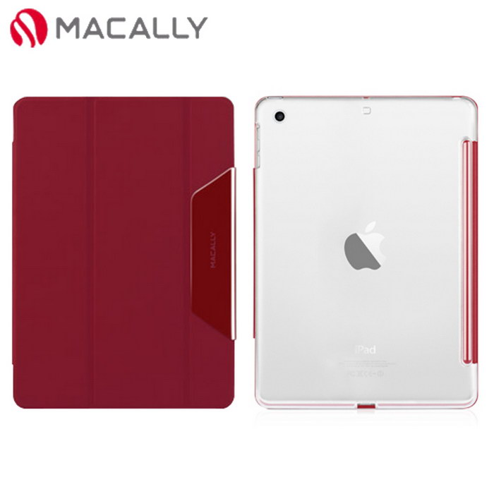 【Macally】iPad Air上下蓋分體式保護套-紅色(CMATEPA5R)