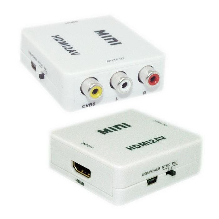【FU】HDMI轉AV端子輸出 轉換器(SR4253)