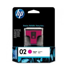 HP C8772WA NO.02 原廠洋紅色墨水匣