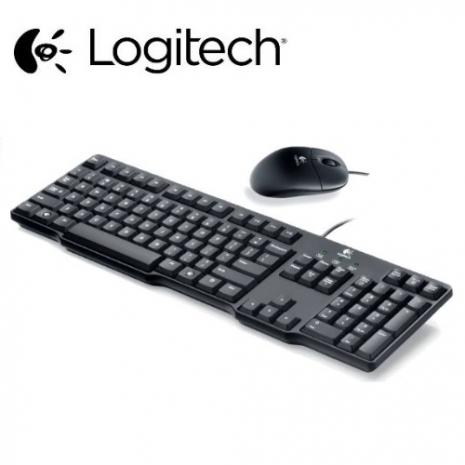 【Logitech羅技】MK100 有線鍵盤滑鼠組二代