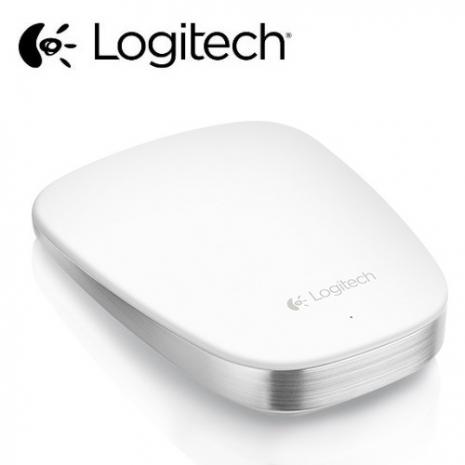 【Logitech羅技】T630  超薄觸控滑鼠 白