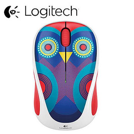 Logitech 羅技 無線滑鼠M238 貓頭鷹