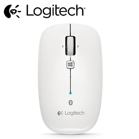 【Logitech羅技】藍牙滑鼠 M557 珍珠白