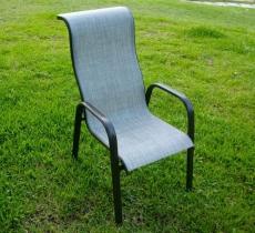 BROTHER 兄弟牌鋁製高背紗網椅