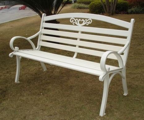 Brother Club~兄弟牌戶外風情~雅典鋁合金雙人公園椅~結構堅固耐用