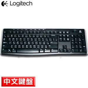 Logitech羅技 K270 2.4G無線鍵盤(2.4G/8個多媒體鍵/Unifying)