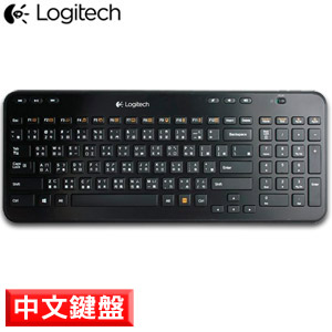 Logitech羅技 K360r 2.4G無線鍵盤(2.4G/6個熱鍵/12個自訂鍵/Win8)