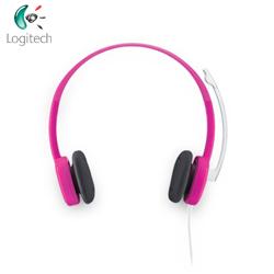 Logitech羅技 立體聲耳機麥克風 H150 (紅色)