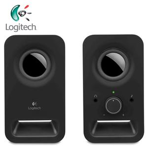 Logitech羅技 Z150 2.0聲道 多媒體揚聲器  黑色 (6瓦/2.0聲道/耳機插孔)