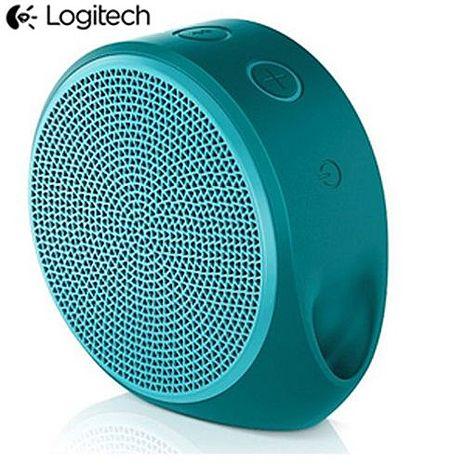 Logitech羅技 X100無線藍芽喇叭 青綠色