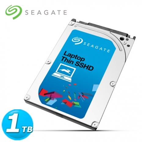 Seagate Laptop SSHD 2.5吋 1TB 筆電用固態混合內接硬碟