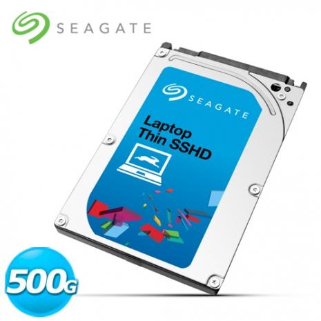 Seagate Laptop SSHD 2.5吋 500G筆電用固態混合內接硬碟