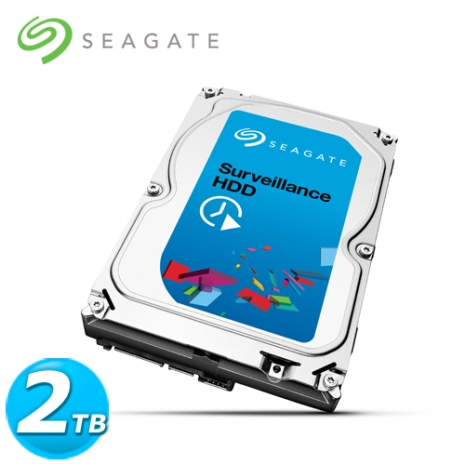 Seagate SV35 3.5吋 2TB SATA3 影音監控 內接硬碟