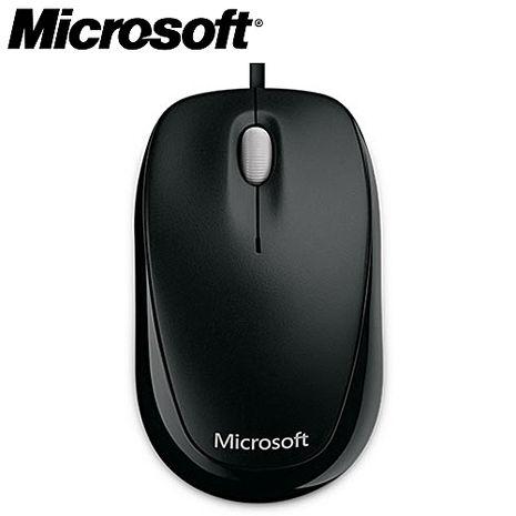 Microsoft微軟 精靈鯊500 有線光學滑鼠 黑色