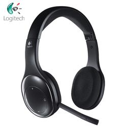 LOGI羅技 2.4G無線+藍芽功能 折疊式耳機麥克風 H800