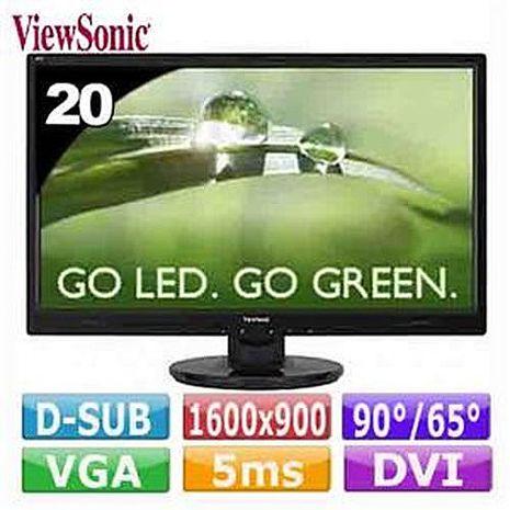 ViewSonic 優派 VA2046m 20型 LED 寬螢幕
