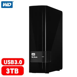WD My Book 3TB 3.5吋 USB3.0 外接硬碟