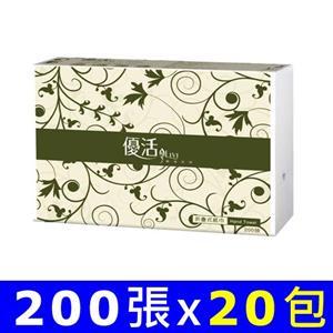 Livi優活 擦手紙 200張x20包/箱