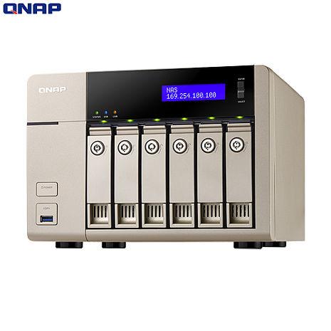 QNAP威聯通 TVS-663 6Bay網路儲存伺服器