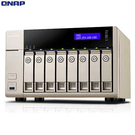 QNAP威聯通 TVS-863 8Bay網路儲存伺服器