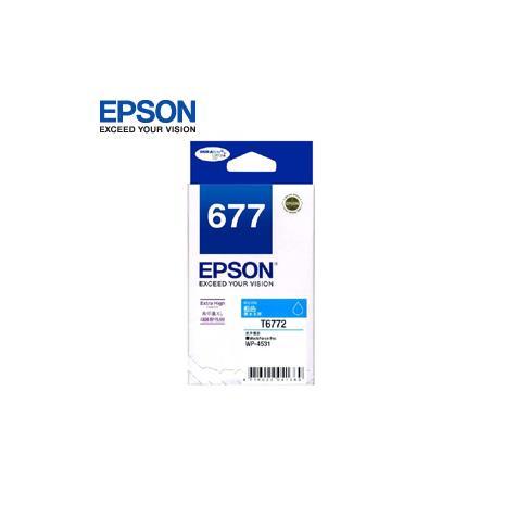 EPSON 原廠高容量墨水匣 T677250 藍色 (WP4531,WP4091)