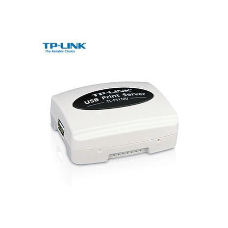 TP-LINK USB2.0 乙太網路列印伺服器【TL-PS110U】
