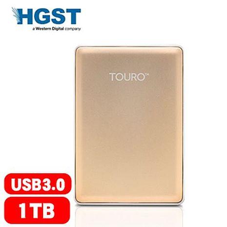 HGST 昱科 Touro S 1TB 7200轉 2.5吋 行動硬碟 金