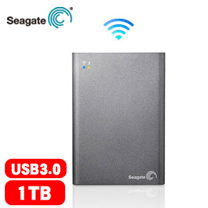Seagate Wireless Plus 2.5吋 1TB 無線外接硬碟 STCK1000300