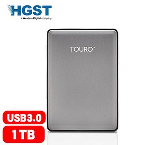 HGST 昱科 Touro S 1TB 7200轉 2.5吋 行動硬碟 灰