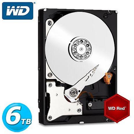 WD 紅標 3.5吋 6TB SATA3 NAS專用內接硬碟 60EFRX