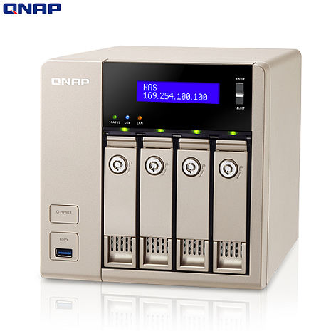 QNAP威聯通 TVS-463 4Bay網路儲存伺服器
