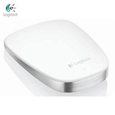 Logitech羅技 T630 超薄觸控滑鼠 白色(1000dpi/快速充電)