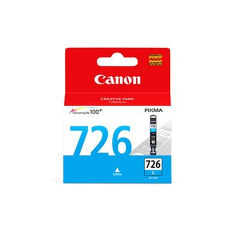 Canon 原廠墨匣 CLI-726C (藍色墨水匣 9ml)