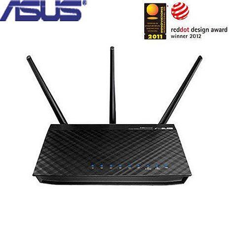 ASUS 華碩 RT-N66U 11n 雙頻 Gigabit 無線寬頻分享器