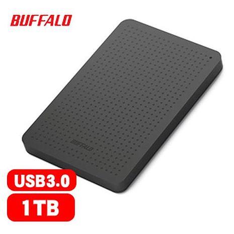 BUFFALO 巴比祿 2.5吋 1TB USB3.0 外接硬碟(黑) HD-PCF1.0U3BB