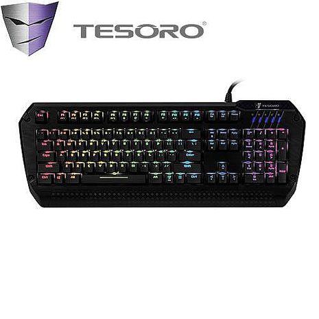 TESORO LOBERA羅貝拉劍幻彩版機械式鍵盤 青軸中文RGB