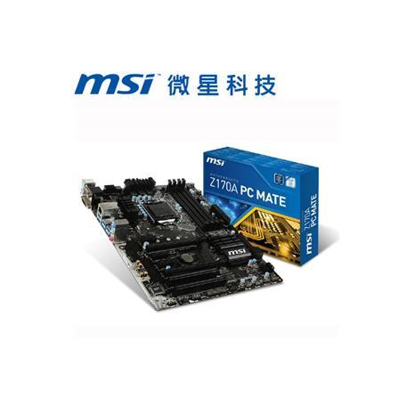 MSI微星 Z170A PC MATE 主機板
