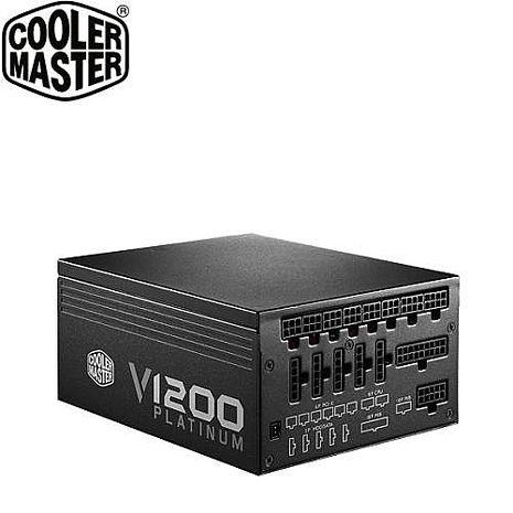 【高階玩家款】Cooler Master V1200 白金牌認證 全模組 1200W電源供應器