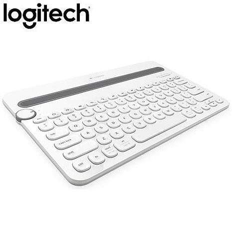 Logitech 羅技 K480 多功能藍牙鍵盤 白