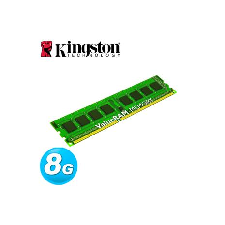 Kingston金士頓 DDR3-1600 8GB 桌上型記憶體